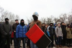 """Gangs neo-nazis do """"sector de direita"""" em Odessa (hoje)"""