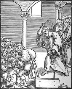 Cristo expulsa os usurários do templo